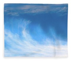 Colours. Blue Fleece Blanket