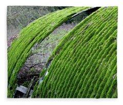 Colours. Green Fleece Blanket
