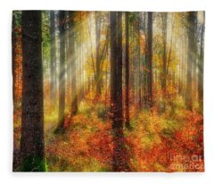 Colours Of Nature 02 Fleece Blanket