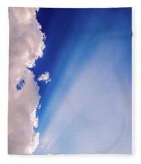 Colours.blue Fleece Blanket