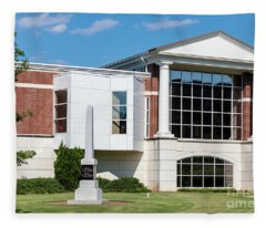 Columbia County Main Library - Evans Ga Fleece Blanket