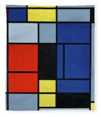 Composition, 1921-1925 Fleece Blanket