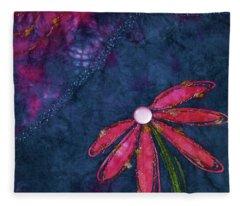 Coneflower Confection Fleece Blanket