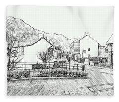 Coniston High Street Fleece Blanket