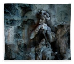 Contemplation And The Kings Fleece Blanket