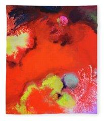 Continuity, Canvas Four Fleece Blanket