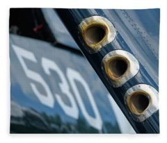 Corsair Guns Fleece Blanket