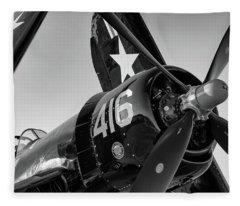 Corsair Under The Setting Sun Fleece Blanket