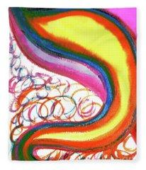 Cosmic Caf Ca4 Fleece Blanket