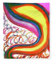 Cosmic Caf Ca4 Fleece Blanket