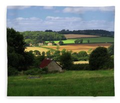 Cotswold Field England 81601 Fleece Blanket