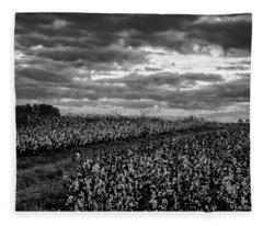 Cotton On A Hill Fleece Blanket