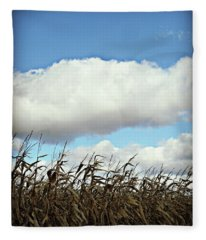 Country Autumn Cuves 5 Fleece Blanket