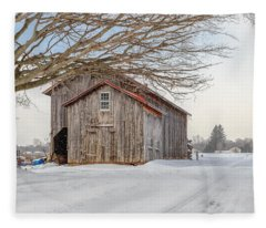 Country Brown Fleece Blanket