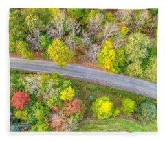 Country Path Fleece Blanket