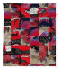 Coupe Rouge Fleece Blanket
