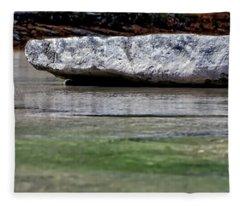 Cow Creek Floating Rock 2014 Fleece Blanket