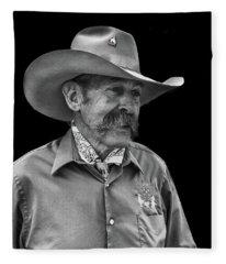 Cowboy Fleece Blanket