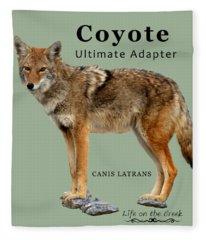 Coyote Ultimate Adaptor Fleece Blanket