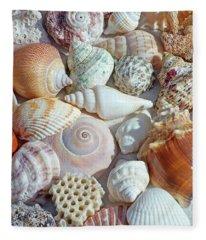 Creatures Of The Sea Fleece Blanket