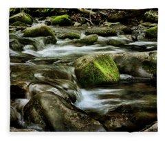 Creek Cades Cove Fleece Blanket