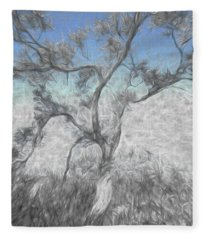 Creeping Up Fleece Blanket