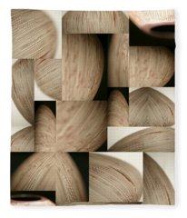 Crescents Fleece Blanket