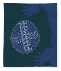Crocodile Egg Fleece Blanket