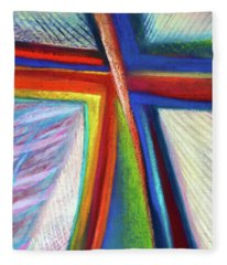Cruciform #1 Fleece Blanket