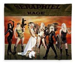 Seraphiel Illusions Fleece Blanket