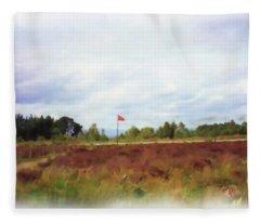 Culloden Battlefield Painting Fleece Blanket