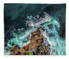 Curly Headland Fleece Blanket
