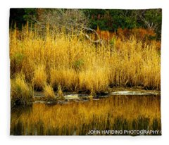Currituck Reflections Fleece Blanket