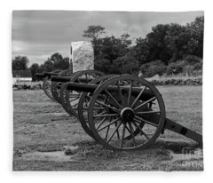 Cushings Battery Gettysburg Battlefield Fleece Blanket