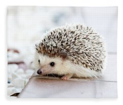 Cute Hedgeog Fleece Blanket