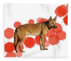 D Is For Dingo Fleece Blanket