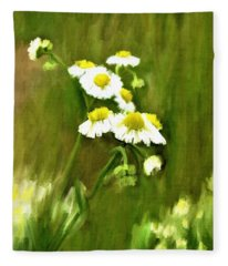 Daisies Fleece Blanket