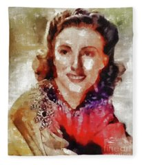 Dame Vera Lynn, Music Legend Fleece Blanket