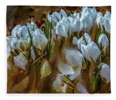 Dance In White #i6 Fleece Blanket