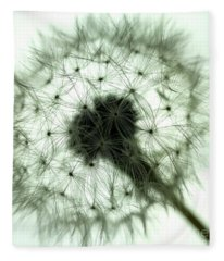 Dandelion 1 Fleece Blanket