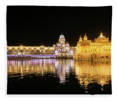 Darbar Sahib Amritsar Fleece Blanket
