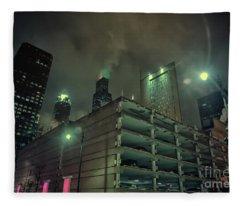 Dark City Fleece Blanket