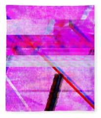 Databending #1 Fleece Blanket