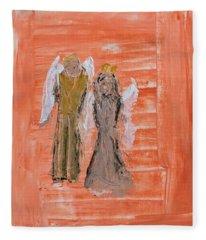 Dating Angels Fleece Blanket