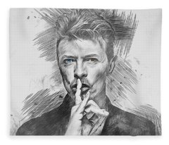 David Bowie. Fleece Blanket