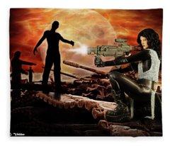 Dawn Of The Dead Fleece Blanket