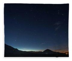 Dawn's Early Light Fleece Blanket
