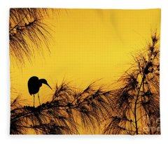 Days End In Jamaica Fleece Blanket