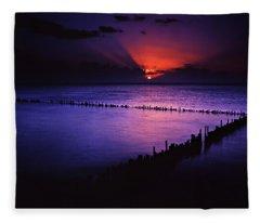 Day's End Fleece Blanket