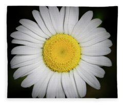 Day's Eye Daisy Fleece Blanket